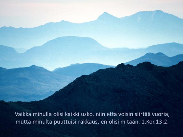 rakkaus vuoria