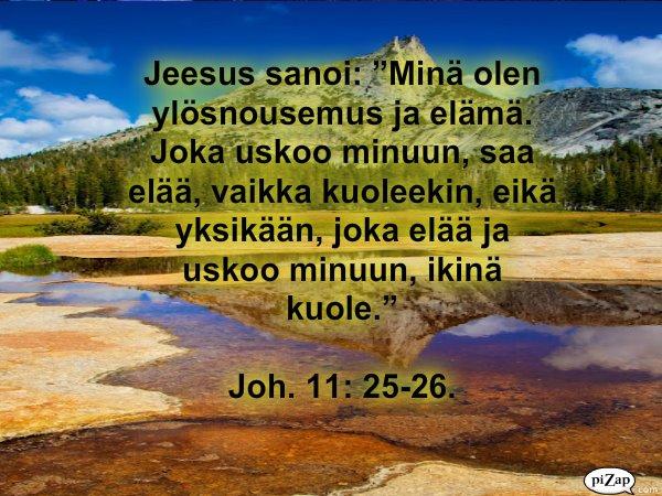 Jeesus sanoi