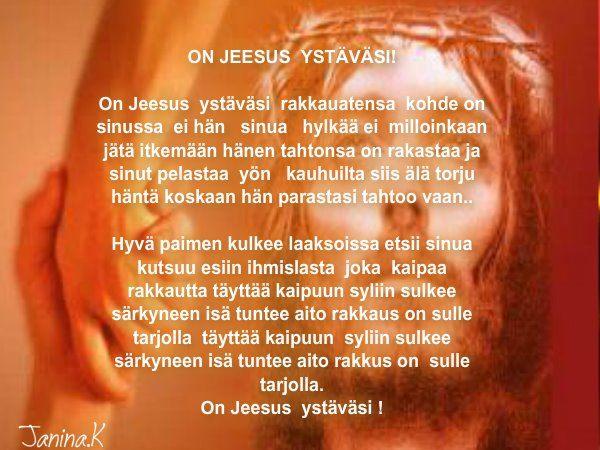 on jeesus ystäväsi